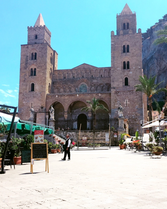 Norman Cathedral in Cefalu, Sicily