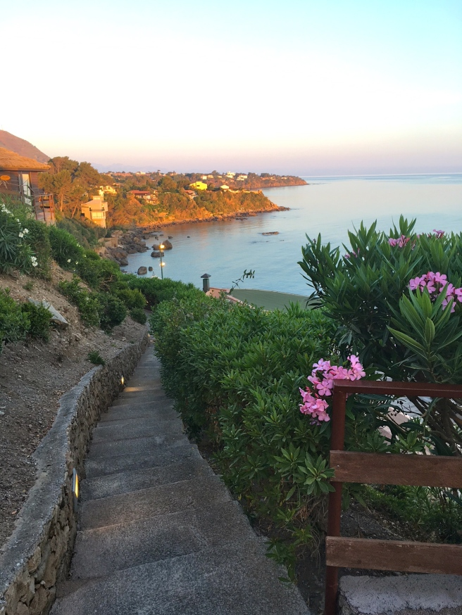 Calanica Hotel in Cefalu, our view