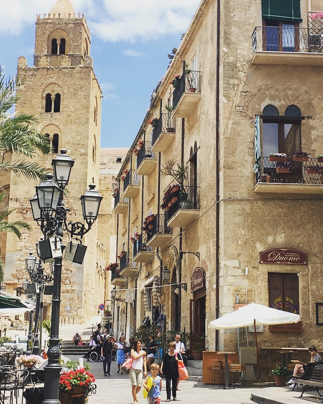 Town Centre of Cefalu, Sicily