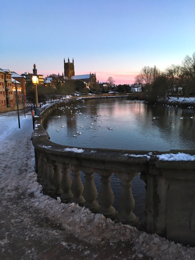Worcester in the Snow