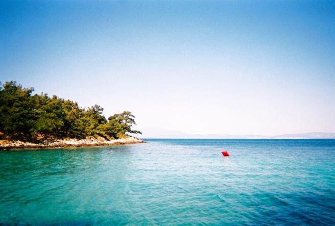 Glyfoneri Beach, Skala Rachoníou
