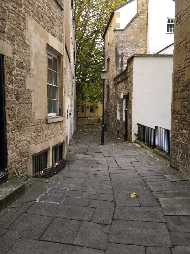 Cobbled Streets Bath