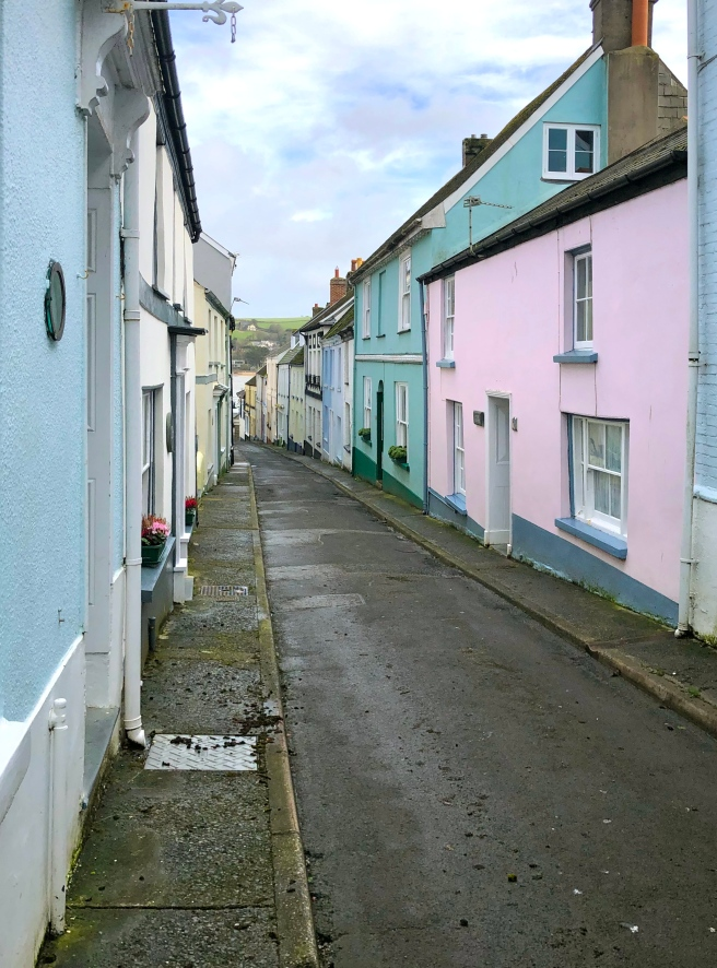 Colourful houses Appledore