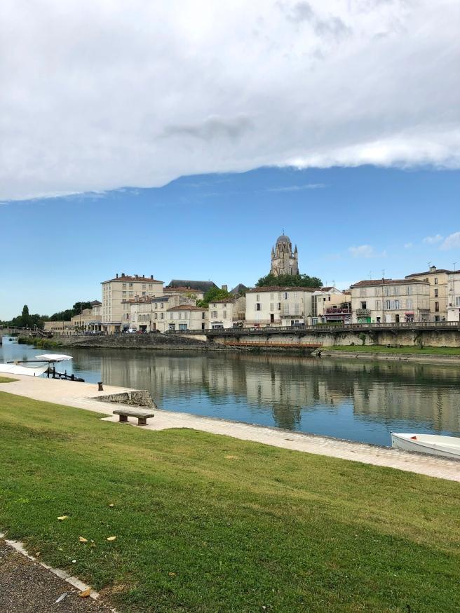 Saintes City France
